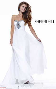 Sherri Hill..the only white dress I would ever consider