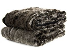 Silver Bear Faux Fur Snuggler - Bedlinen & Throws | Weylandts