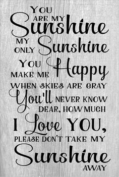 You Are My Sunshine Wood Sign or Canvas Wall Hanging - Valentines Day Christmas Gift New Baby Nursery Decor Mother's Day Shower Gift by HeartlandSigns on Etsy Baby Nursery Diy, Diy Baby, Babies Nursery, Art Christmas Gifts, Sunshine Quotes, Kitchen Wall Art, Kitchen Decor, Baby Art, Wall Art Quotes