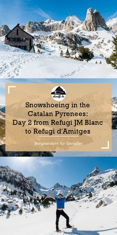 2 day Snowshoe hike in the Catalan Pyrenees