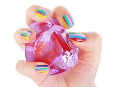 funky nails by ~heart-of-everything on deviantART