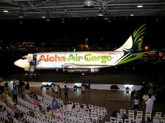 Aloha Air Cargo N840AL by ikn880, via @Flickr at the New Brand Unveiling in 2008.