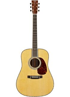The Martin D-42 Dreadnought has a solid spruce top that generates rich Martin tone, while gorgeous rosewood back and sides add crisp projection.