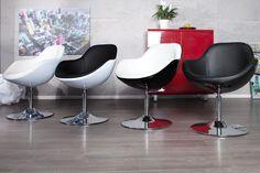 """Design Cocktailsessel """"SPEED CHAIR"""" mit ergonomischen, formschönen Konturen. Die Schale besteht aus hochwertigem Glasfaserkunststoff in Kombination mit einer gepolsterten Sitzfläche aus exklusivem Kunstleder. Eine komfortable Sitzgelegenheit und ein absoluter Design-Klassiker für Ihr Ambiente. Ob als Cocktailsessel oder eleganter Drehsessel in Ihrer Lounge, der SPEED CHAIR wird Ihnen und Ihren Gästen eine komfortable Sitzmöglichkeit bieten und für unvergessliche Stunden sorgen."""