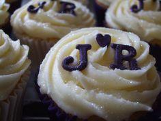 sparkly sugar cupcakes
