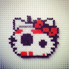 BB-8 Hello Kitty hama beads by hadavedre