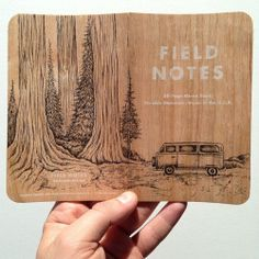 Illustrated on another #FieldNotesBrand cover. #vw #illustration