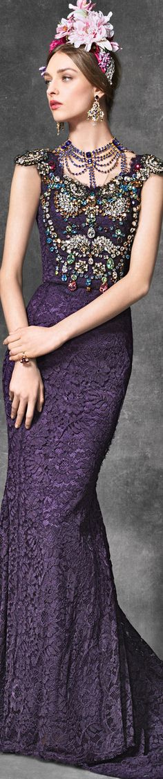 Dolce & Gabbana ~ Evening Collection ~ Winter 2017