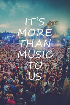 I mean look at all those people. Lmao wishful thinking probably Music Trends and Artists, EDM, Trance, Electronic Dance Music. Dance Music, Music Lyrics, Music Quotes, Concert Quotes, Dubstep, Music Is Life, My Music, House Music, Rock Music