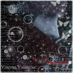 ❀ vιηcεηт vαℓεηтιηε ❀ Vincent Valentine, Final Fantasy Characters, I Love Him, My Love, Photo Editor, Bling, My Favorite Things, Movie Posters, Pictures