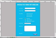 How to Create Interactive Forms with Adobe InDesign - Tuts+ Design & Illustration Article