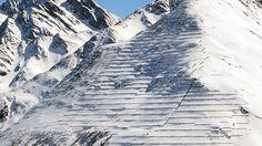 Stützverbauung im Bereich der Wolfsgrubenlawine in St. Anton. ©Peter Hoeller Innsbruck, St Anton, Mount Everest, Mountains, Nature, Travel, Research, Safety, Voyage
