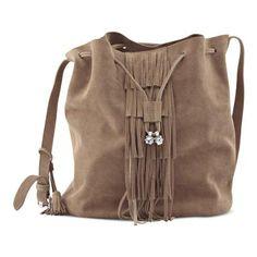 Shoulder strap bag Shops, Shoulder Strap Bag, Fringes, Bordeaux, Taupe, Spring Summer, Backpacks, Womens Fashion, Bags