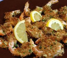 Crispy Garlic Lemon Shrimp! - ready in 10 minutes, and it's AMAZING!! :)