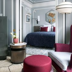 The Nolinski hotel in Paris has landed a spot on Tablet's Top 25 Coolest Hotels List. Check out its stunning rooms and grand views that helped it snag its spot.