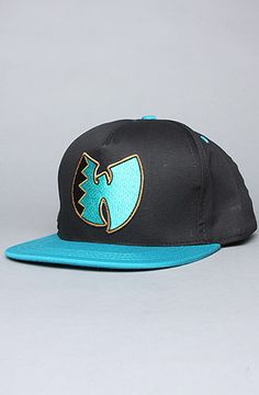 The Wuzona Snapback Cap in Black & Blue by Wutang Brand Limited