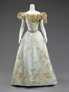 Dress (Ball Gown) Jean-Philippe Worth 1898