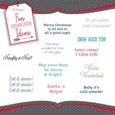 holiday personalization ideas