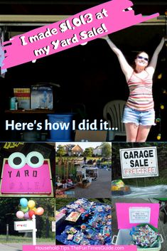 57 Best Yard Sale Tips images in 2019 | Yard sales, Garage
