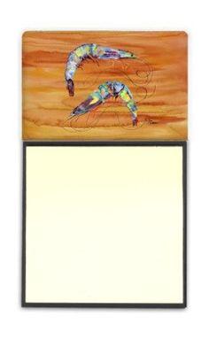 Shrimp Refiillable Sticky Note Holder or Postit Note Dispenser 8145SN, Multi