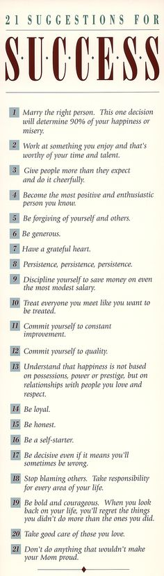 21 success
