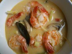 Thai shrimp soup - http://www.amazon.com/Smart-Cooking-Busy-People-ebook/dp/B00CQX26OM/ref=la_B00CR71RSS_1_1?ie=UTF8=1368421900=1-1