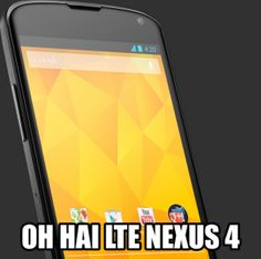How To Enable 4G LTE On The Google Nexus 4