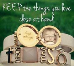 KEEP the things you love close at hand.  One of a kind bracelets for mom and/or wife. https://www.keep-collective.com/with/katief