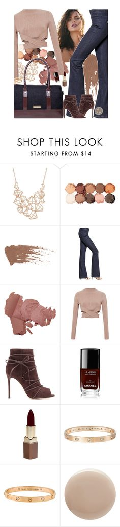 """go CG"" by bycharogarcia ❤ liked on Polyvore featuring Ted Baker, NYX, The Seafarer, Garcia, Jonathan Simkhai, Gianvito Rossi, Chanel, Fashion Fair, Cartier and Oribe"