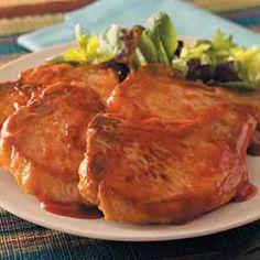 saucy pork chops