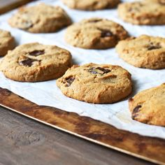 Cashew Butter Cookies - gluten & dairy-free; can be egg-free (The Detoxinista)