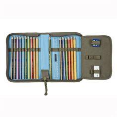 Pochette Plate Pour Crayons De Couleurs : Starlight : Olive - EanFind