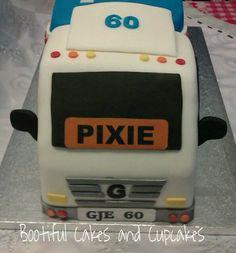"""20"""" lorry cake  Cake by bootifulcakes"""