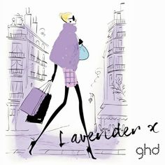 Meet Lavender, ghd's resident party girl and dedicated follower of fashion. From her statement sunglasses to her stiletto heels, she turns heads wherever she goes. #lavender #ghdpastels