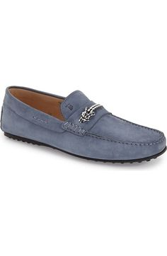Tod's 'Morsetto City Gommini' Driving Shoe (Men) available at #Nordstrom