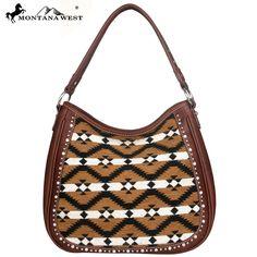 Montana West Aztec Collection Hobo Handbag