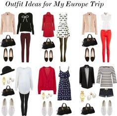 """Outfit Ideas for Europe II"" by claudinemedina on Polyvore"