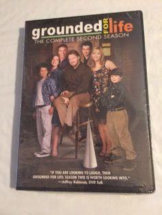 Grounded for Life - Season 2 (DVD, 2011, 3-Disc Set) NEW Region 1