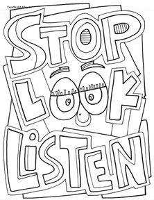 Stop Look and Listen!