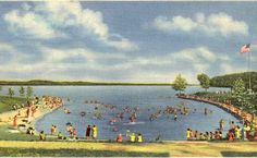 Kentucky Lake Beach Area