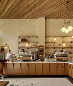 Boor Bridges Architecture has become a go-to design firm for third-wave coffee establishments in San Francisco.