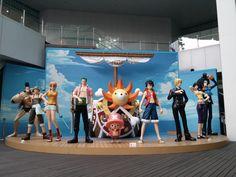 원피스 전시회가 있다?! 해적들 만나러 홍대갑시다 #원피스 메모리얼로그 #홍대 #루피