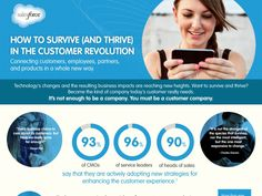 How to Survive (and Thrive) in the Customer Revolution   [#Infographic]  #Sales & #Customer