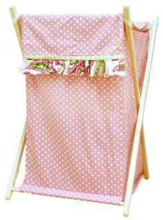 Pink Baby Boutique - Paisley Splash Hamper in Pink, $44.00 (http://www.pinkbabyboutique.com/paisley-splash-hamper-in-pink/)