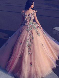 Prom Dress Princess, Champagne off shoulder tulle long prom dress, tulle champagne evening dress Shop ball gown prom dresses and gowns and become a princess on prom night. prom ball gowns in every size, from juniors to plus size. A Line Prom Dresses, Tulle Prom Dress, 15 Dresses, Quinceanera Dresses, Modest Dresses, Ball Dresses, Dress Up, Party Dress, Dress Long