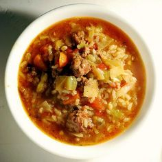 Unrolled Cabbage Soup - Viking Range, LLC