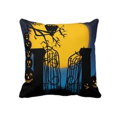 Spooky Halloween 4 Pillows $63.95