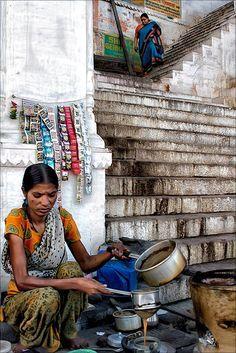 Stairway Tea - Varanasi