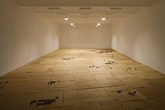 Michael Ashkin, Untitled (where each new sunrise …), installation view, Secession photo: Wolfgang Thaler Hardwood Floors, Flooring, Sunrise, Cities, Crafts, Nature, Art, Wood Floor Tiles, Art Background