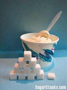 How Much Sugar in Desserts? TCBY Vanilla